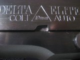 Colt Delta Elite, 10mm auto, rubber grips, NIB, Colt Case and extra magazine
