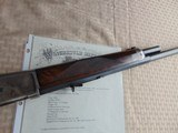 SUPERB - WINCHESTER 1886 DELUXE SPECIAL ORDER 1/2 OCTAGON RIFLE 45-90 W/ FACTORY LETTER - 17 of 26