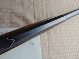 SUPERB - WINCHESTER 1886 DELUXE SPECIAL ORDER 1/2 OCTAGON RIFLE 45-90 W/ FACTORY LETTER - 12 of 26