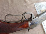 SUPERB - WINCHESTER 1886 DELUXE SPECIAL ORDER 1/2 OCTAGON RIFLE 45-90 W/ FACTORY LETTER - 14 of 26