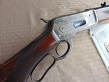 superbwinchester 1886 deluxe special order 1/2 octagon rifle 45 90 w/ factory letter