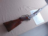 SUPERB - WINCHESTER 1886 DELUXE SPECIAL ORDER 1/2 OCTAGON RIFLE 45-90 W/ FACTORY LETTER - 16 of 26