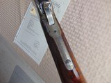 SUPERB - WINCHESTER 1886 DELUXE SPECIAL ORDER 1/2 OCTAGON RIFLE 45-90 W/ FACTORY LETTER - 20 of 26