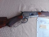 SUPERB - WINCHESTER 1886 DELUXE SPECIAL ORDER 1/2 OCTAGON RIFLE 45-90 W/ FACTORY LETTER - 3 of 26