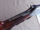 SUPERB - WINCHESTER 1886 DELUXE SPECIAL ORDER 1/2 OCTAGON RIFLE 45-90 W/ FACTORY LETTER - 10 of 26