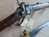 SHARP NEW MODEL 1859 NAVY 3 BAND RIFLE WITH AMES 1861 SWORD / BAYONET