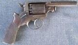Cased Mass. Arms, Adams Patent Pocket Revolver - 2 of 13