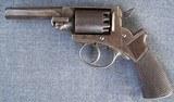 Cased Mass. Arms, Adams Patent Pocket Revolver - 5 of 13