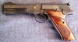Cased, Engraved, COLT 3rd Model Match Target - 4 of 20