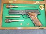 Cased, Engraved, COLT 3rd Model Match Target