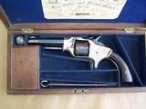Cased George Webb British Revolver