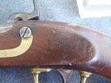 H. Aston Model 1842 US percussion Pistol - 9 of 17
