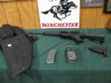 5801 Rock River Arms Lar 15 5.56/223 Eotech Halographic site, Eotech 3X multiplier, 3 clips, 2 cases BUMP STOCK, etc