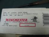 5890 Winchester 70 Custom Shop Supergrade 338 win mag GRADe #5 engraved correct box - 2 of 22