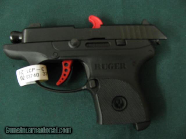 6118 Ruger LCP-C Custom 380 caliber 2 75 inch barrel, 6