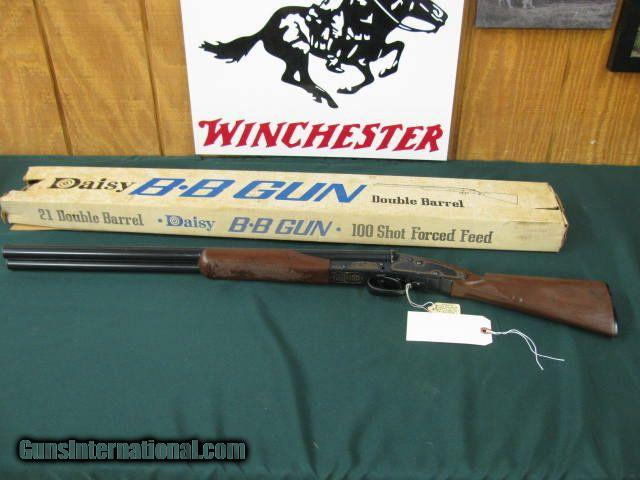6379 WINCHESTER MODEL 21 DAISY BB GUN AS NEW IN BOX , 99% CONDITION