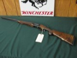 6513 Winchester 23 Classic 410 gauge 26 barrels mod/full, vent rib ejectors, pistol grip with cap,Winchester butt pad, all original, GOLD RAISED RELIE