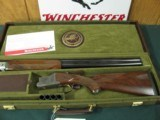 6534 Winchester 101 NWTF 12 gauge 27 inch barrels 3 inch chambers 2 mod 2 full 2xf chokes, wrench,paper of instructions, keys, NEW IN NATIONAL WILD TU