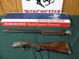 6540 Winchester 101 Pigeon 28 gauge 28 inch barrels, 2 white beads,Winchester butt plate, all original, 99% AS NEW IN BOX, TEST FIRED. this is the ear