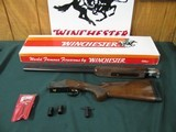 6545 Winchester 101 American Flyer Live Bird 12 gauge 28 inch barrels, top bl is extra full, bottom barrel screw chokes mod/full wrench pouch,vent rib
