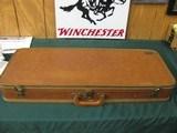 6547 Winchester 101 Skeet Set 20 gauge 28 gauge, 410 gauge, 28 inch barrels, skeet chokes, repaired forend on 410 gauge, numerous small marks on stock