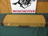 6548 Winchester 23 Golden Quail 20 gauge 26 inch barrels ic/mod, STRAIGHT GRIP, AAA FANCY WALNUT FEATHER CROTCH, Winchester butt pad, solid rib, eject