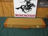6555 Winchester23 Golden Quail 20 gauge 26 inch barrels,ic/mod raised solid rib, ejectors, STRAIGHT GRIP,single selective trigger, quail/dogs engrav