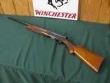 6580 Browning Belgium SWEET SIXTEEN 16 gauge 27 inch vent rib barrel, full chokes, round knob, long tang, appears to be horn Browning butt plate, exce