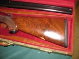 6584Winchester Model 23 Classics 4 GUN SET ALL SAME SERIAL NUMBER.#006. GOLD RAISED RELIEF pheasants and quail on receiver bottom,vent rib,ejectors, - 4 of 14