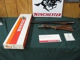 6587 Winchester 23 Pigeon XTR 12 gauge 26 inch barrels 2 Winchokes sk/ic, more chokes for $40, vent rib, single select trigger, ejectors, round knob,