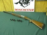 6593 Winchester 23 Pigeon XTR 12 gauge 26 inch barrels 6flush winchokes, s, ic, m,im,f,xf, round knob, vent rib, ejectors , original Winchester butt
