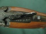 6594 Winchester 101 PRESENTATION SKEET, 12 gauge 27 inch barrels, skeet/skeet, 4 GOLD RAISED RELIEF PHEASANTS ENGRAVED ON DARK BLUE RECEIvER WITH ROSE - 14 of 15