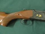 6594 Winchester 101 PRESENTATION SKEET, 12 gauge 27 inch barrels, skeet/skeet, 4 GOLD RAISED RELIEF PHEASANTS ENGRAVED ON DARK BLUE RECEIvER WITH ROSE - 6 of 15