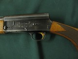 6581 Browning Belgium A 5 20 gauge 25 inch barrel, ic fixed choke,VENT RIB, square knob, Browning butt plate, gold trigger, 97% condition,showing a li - 3 of 11