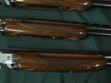 6563 Winchester 101 SKEET SET APPEARS UNFIRED IN WINCHESTER CASE, 20 gauge, 28 gauge, 410 gauge, 28 inch barrels,skeet chokes, 2 brass beads, Winchest - 15 of 16