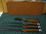 6563 Winchester 101 SKEET SET APPEARS UNFIRED IN WINCHESTER CASE, 20 gauge, 28 gauge, 410 gauge, 28 inch barrels,skeet chokes, 2 brass beads, Winchest - 10 of 16