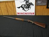 6659 Winchester 101 20 gauge 28 inch barrels, 2 3/4 & 3 inch chambers, mod/full, pistol grip ejectors, vent rib Winchester butt plate. handling marks