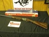 6662 Winchester Model 23 Grand Canadian 20 gauge 26 inch barrels id/mod STRAIGHT GRIP,vent rib, ejectors,butt pad single select trigger, GOLD RAISED R