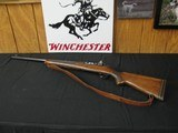 6670 Winchester model 70 375 Magnmum, Pachmayer pad leather sling, 14 3/4 lop,peep site,receiver side taps,hooded front site, s/n 5718x made in 1946,b