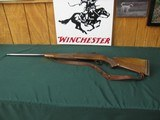 6673 Winchester model 70 338 cal J. K. Cloward custom barrel mfg 1960 leather sling Packmeyer butt pad 14 lop, bore/brite/shiny. excellent condition r
