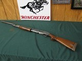 "6686 Winchester model 12 12 gauge 30 inch barrel 3 inch chamber""for superspeed & super-x"" 3 inch, stamped on barrel, wood stock extension, g"