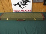 6689 Winchester Rifle case--RARE-- will take 38 inch overall, original keys included. has top full length compartment for accessories or targets and b