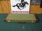 6692 Winchester case for 101, 23, double rifle, or shotgun over rifle--RARE CASE--original keys, never a gun in it. NEW OLD STOCK, will take 27 inch b - 1 of 5