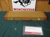 6707 Winchester 23 Golden Quail 20 gauge 26 inch barrels,ic/mod raised solid rib, ejectors, STRAIGHT GRIP,single selective trigger, quail/dogs engrave