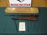 6735 Winchester 6222 short long long rifle, Winchester correct box,all box innards paper dividers, Winchester pamphlet,99% condition,excellent very