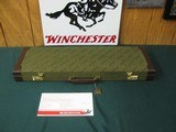 6747 Winchester 101 QUAIL SPECIAL 410 gauge 26 inch barrels mod/full, vent rib, STRAIGHT GRIP, AAA++Fancy Walnut, quail/dogs engraved coin silver rece