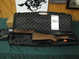 6752 CZ Drake 12 gauge 28 inch barrels 2 3/4 & 3 inch chambers, 5 chokes/wrench, cyl ic m im f, and pamphlet, grain figured, vent rib single select tr