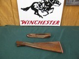6757 Winchester model 23 GOLDEN QUAIL 20 gauge, factory NEW OLD STOCK,forend/stock with lots of figure AAA++, normally a set of NOS forend/stock set i