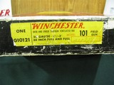"""6761Winchester 101 field 20 gauge 30 INCH BARRELS,sometimes called """"Lady Duck"""",rare to find in 30 inch barrels,NEW IN BOX/PAPERS, 2 3/4 & - 2 of 12"""