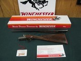 6742 Winchester 23 Golden Quail 12 gauge 26 inch barrels, ic/im,STRAIGHT GRIP,Winchester butt pad, correct serialized box, HANG TAG,98% condition, bro - 1 of 12